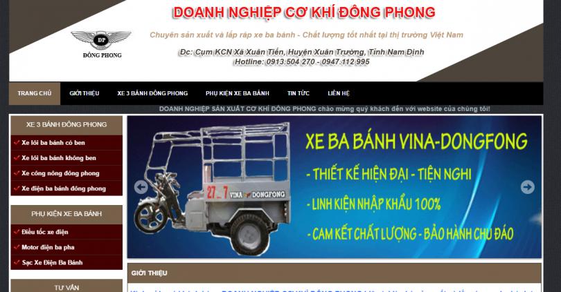 Dự Án Xe Ba Bánh Nam Định