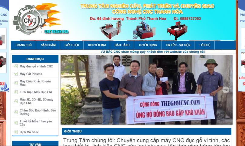 Dự Án CNC Thanh Hóa