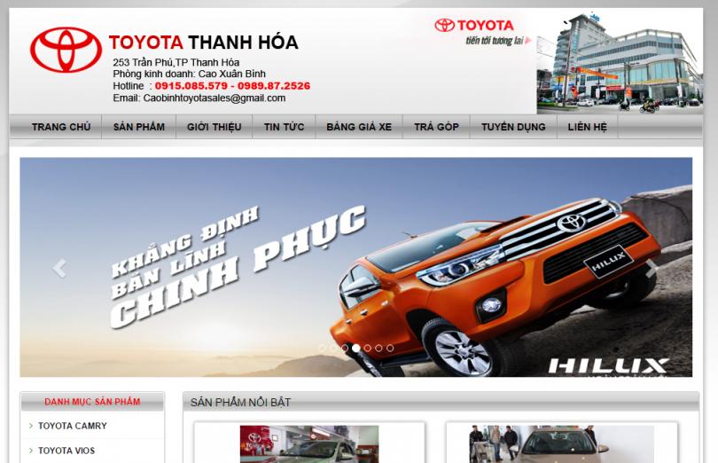 Dự Án Toyota Thanh Hóa