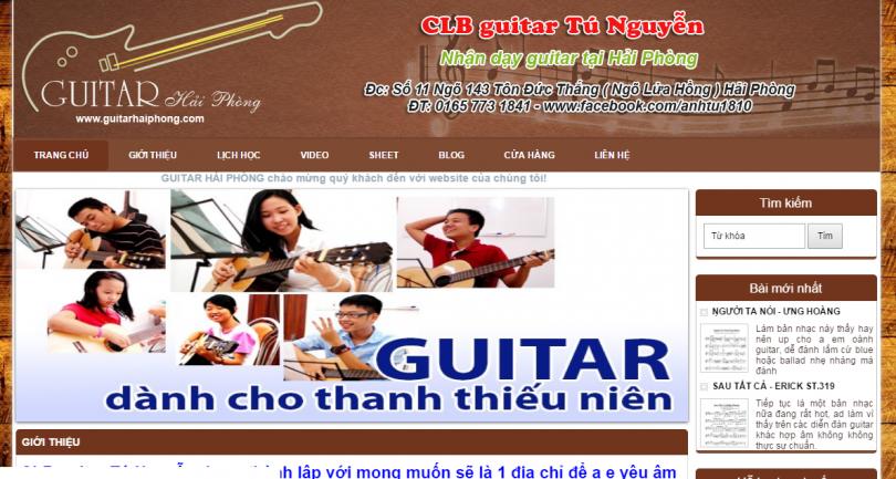 Dự án Guitar Hải Phòng