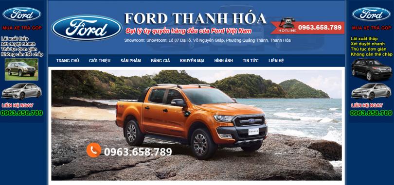 Dự án ô tô Ford Thanh Hóa