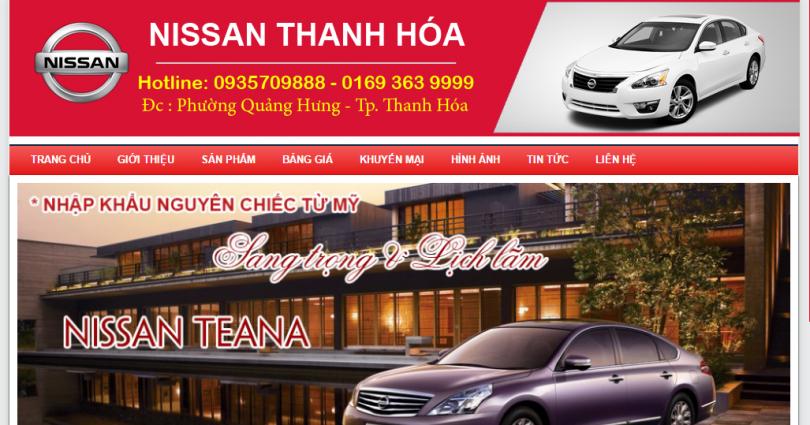 Dự án Nissan Thanh Hóa