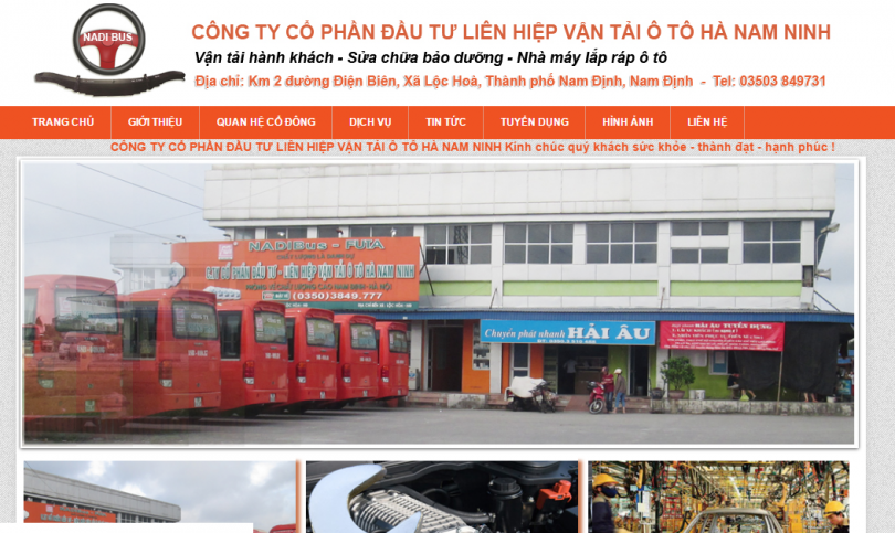 Dự án Vận Tải Hà Nam Ninh