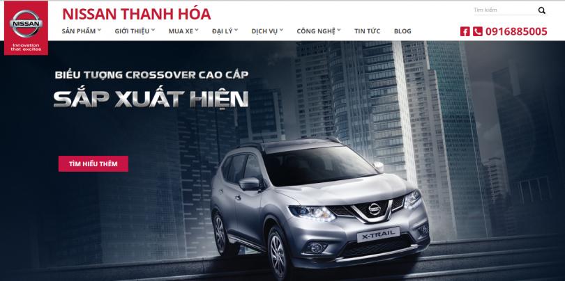 Dự án đại lý Nissan Ô Tô