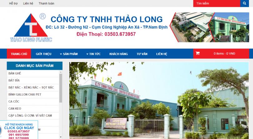 Dự án Nhựa Thảo Long Nam Định