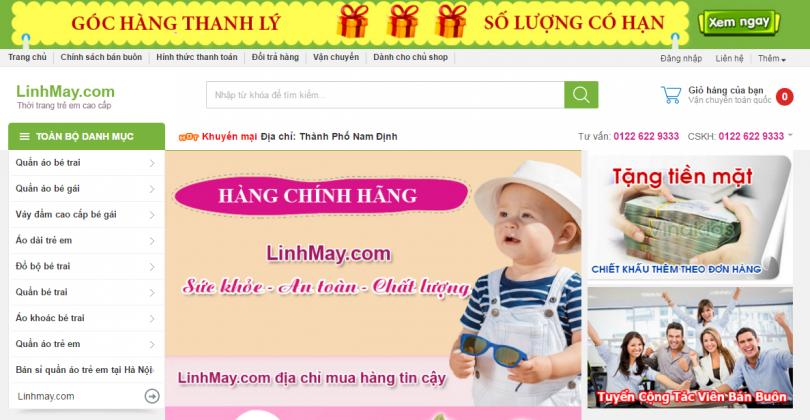 Dự Án Linh Mây Shop Nam Định