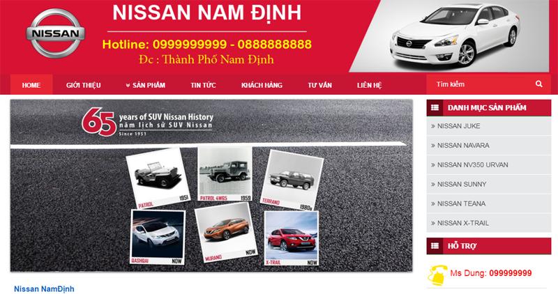 Dự Án Nissan Nam Định 1