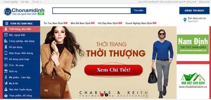 Dự Án TMĐT Chợ Nam Định
