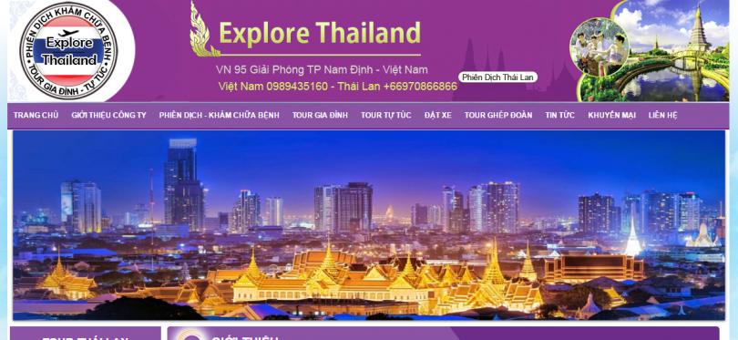 Dự Án Phiên Dịch Thái Lan