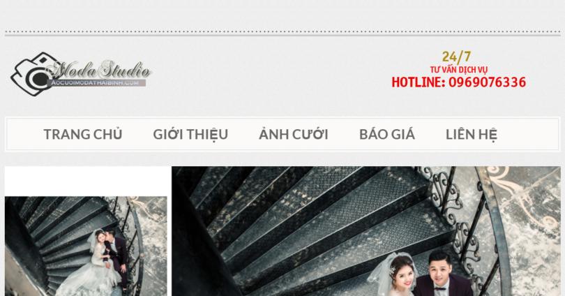 Dự án áo cưới Moda Thái Bình