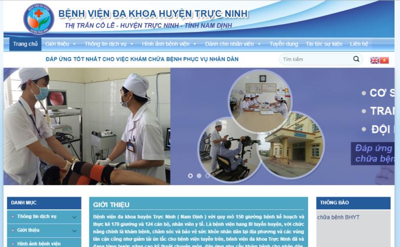 Dự án Bệnh Viện Đa Khoa Trực Ninh