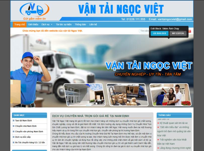 Dự án taxi Tải Nam Định