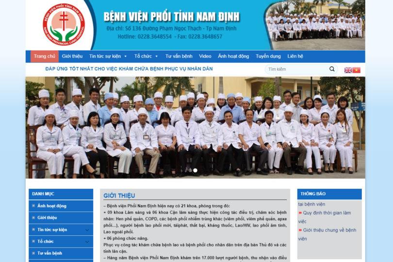 Dự án Bệnh Viện Phổi Nam Định