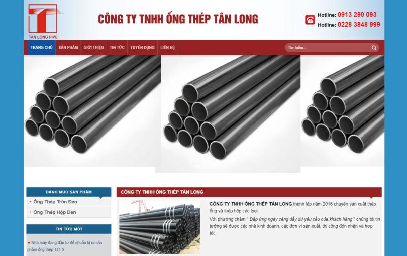 Dự án ống thép Tân Long Nam Định