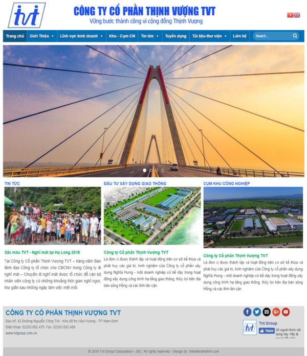 Dự án tập đoàn Thịnh Vượng TVT