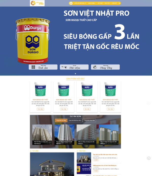 Dự án Sơn Việt Nhật Pro